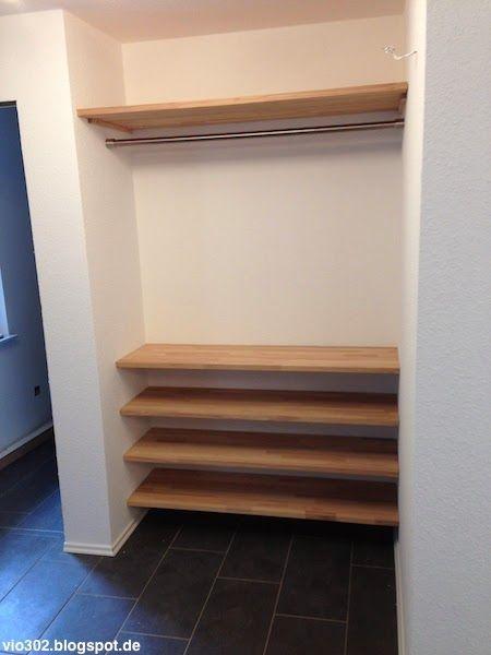 Garderobe In Nische Bauen Wohn Design