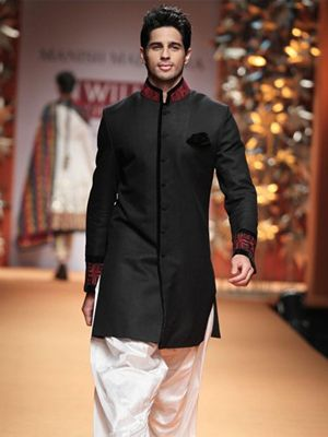 Men's Indian Wedding Suits for a Regal Look - Manish Malhotra Bandhgala
