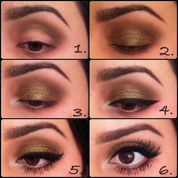 Eid Makeup Tips for Brown Eyes 2015-2016   Eid Makeup Tips and Tricks