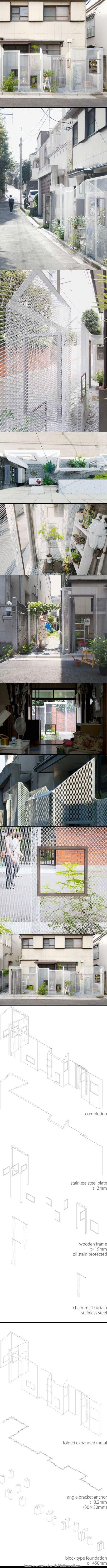 Ghost-like Architecture by Shingo Masuda and Katsuhisa Otsubo Architects - http://www.dezeen.com/2010/01/15/ghost-like-architecture-by-shingo-masuda-and-katsuhisa-otsubo-architects/