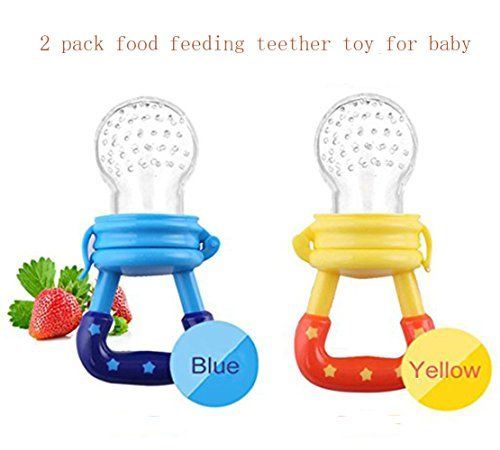 2pcs Baby Fresh Food feeding/ Fruit Silicone Feeder Nibbl... https://www.amazon.com/dp/B078SQPHLN/ref=cm_sw_r_pi_dp_U_x_VtZJAbTH3GHPM