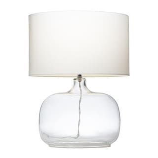 Kichler Lighting 1-light Clear Glass Table Lamp | Overstock.com Shopping - The Best Deals on Table Lamps #TransitionalDecor