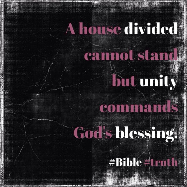 a house divided cannot stand bible kjv 1