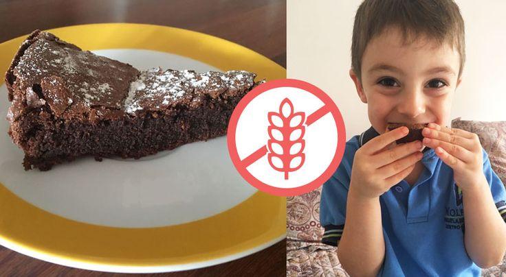 Contigo, la receta infalible, súper práctica y chocolatosa de torta de chocolate sin harina!