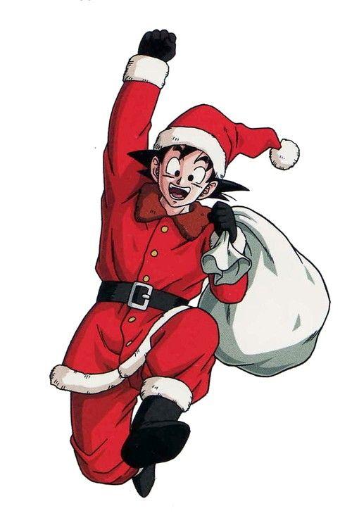 HAPPY X-MAS by Toriyama Sensei. - Visit now for 3D Dragon Ball Z shirts now on sale!