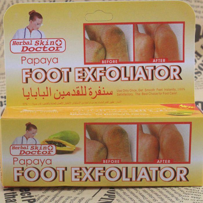 Папайя ног exfoliator экстракт Алоэ для ног уход за ногами крем 50 МЛ Крем Для Ног S128