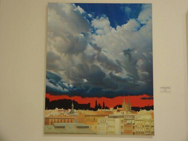 Взгляд из Мадрида на Москву. Э. Булатов.