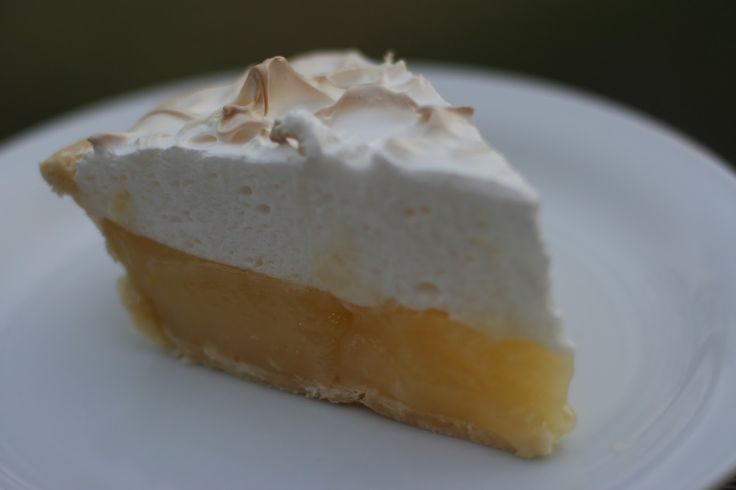 V e g a n D a d: Lemon Meringue Pie