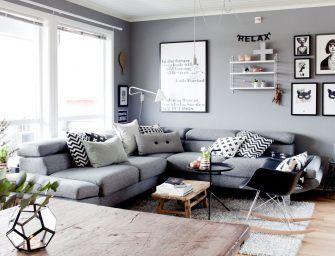 Gewoon doen: hoekbank in een kleine woonkamer | interieur | Pinterest
