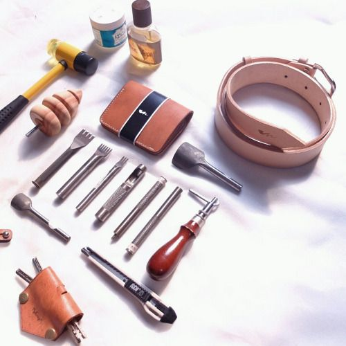 Midway equipment, we use head and hand  We craft with original leather