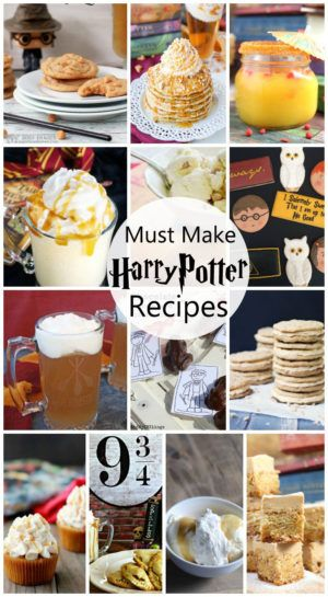 So many awesome Harry Potter food ideas. These recipes would be great for Harry …