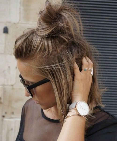 Latest Short Updo Hairstyles 2017 for Women