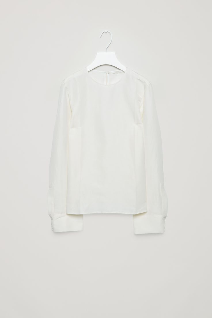 COS | Textured silk blouse
