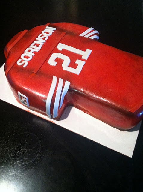 49ers Jersey Cake