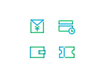 Line icons  by ahon
