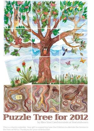 alice stori at #storialab  #illustration #tree of #life #owl #birds