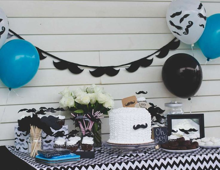 43 best Mustache Baby Shower images on Pinterest Mustache baby