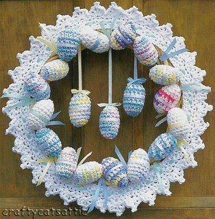 Receitas de Crochet: Guirlanda maternidade