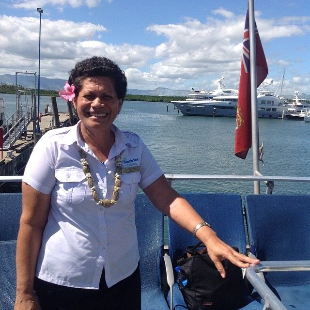 We're proud of our #friendly and #professional #staff. We take you on a journey through #Fiji's #picturesque #islands. #southseacruises.