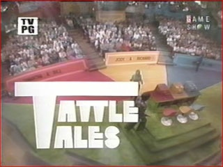 Tattletales is a game show which first aired on the CBS daytime schedule on February 18, 1974. It was hosted by Bert Convy, with several announcers, including Jack Clark, Gene Wood, Johnny Olson and John Harlan, providing the voiceover at various times. The show was based on He Said, She Said, a syndicated Goodson-Todman show that aired during the 1969-1970 season. The show's premise involved questions asked about celebrity couples' personal lives.