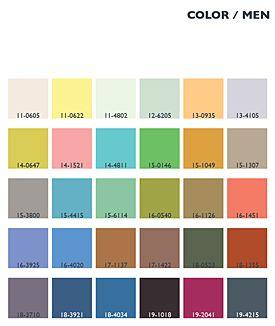 Menswear Color Trends | Lenzing Spring/Summer 2014 Fashion & Color Trends