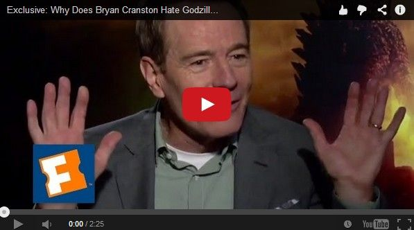 Why Bryan Cranston HATES Godzilla [Video] | Geeks are Sexy Technology News