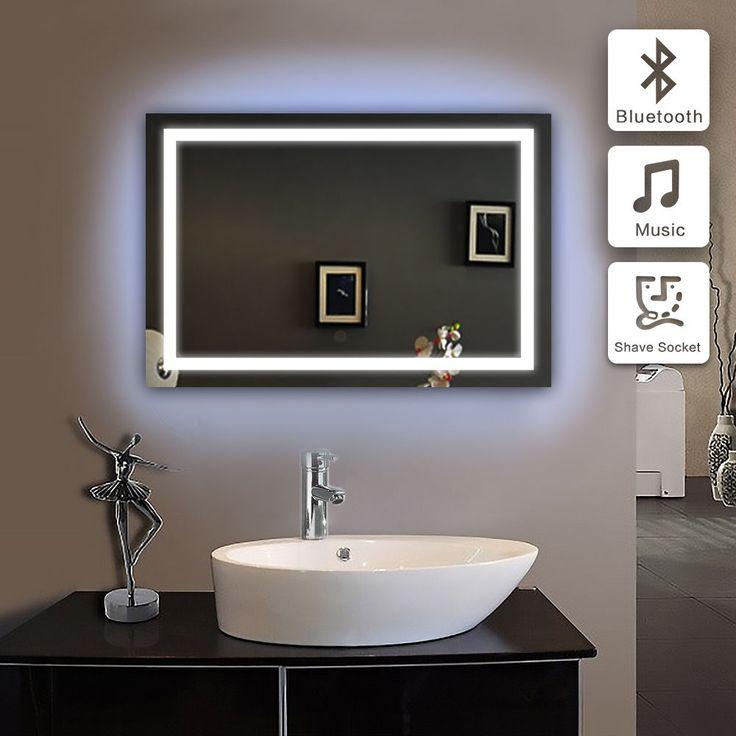 Best 25 Mirrors With Bluetooth Speakers Ideas On Pinterest Bluetooth Vanity Mirror Brimnes