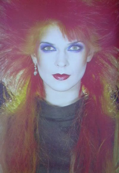 aaaaaaaaahk, the 1980s. 80s hair and makeup. Toyah