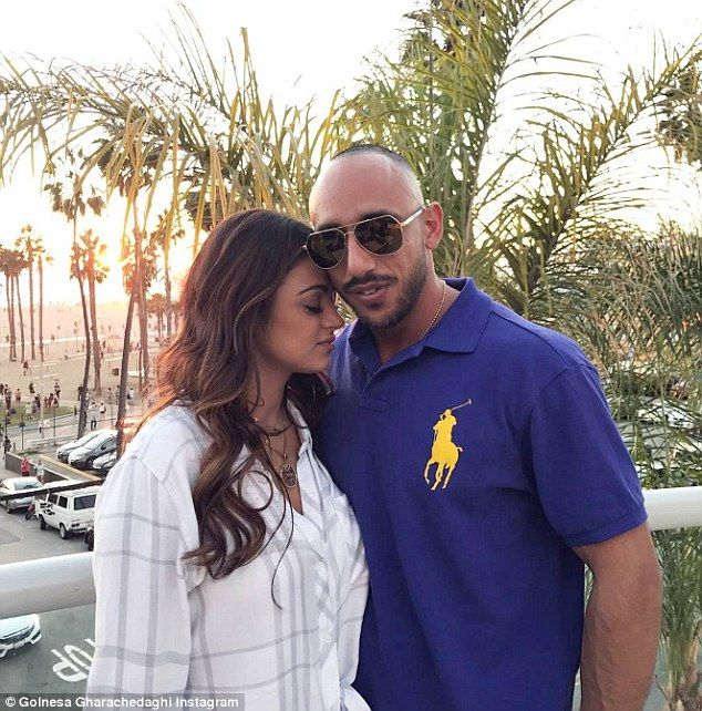 Love of my life: The Bravo star and boyfriend Shalom have been seeing each other for several months and are already head over heels for each other. Shalom was previously involved with GG's Dash Doll costar Durrani Popal