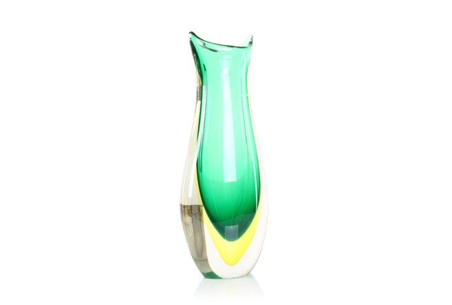 Limoncello Murano Vase - Mr. Bigglesworthy Designer Vintage Furniture Gallery