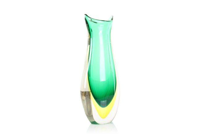 Limoncello Murano Vase - Mr. Bigglesworthy Designer Vintage Furniture Gallery