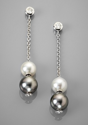 MIKIMOTO Pearls-in-Motion Drop Earrings
