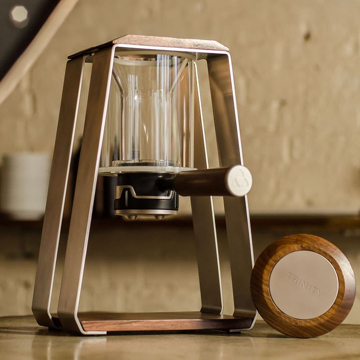 15 Pour Over Coffee Stands That All You Coffee Snobs Need To Be Aware Of // The ONE pour over coffee maker by Trinity Coffee Co.
