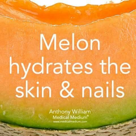 Melon good for skin and nails