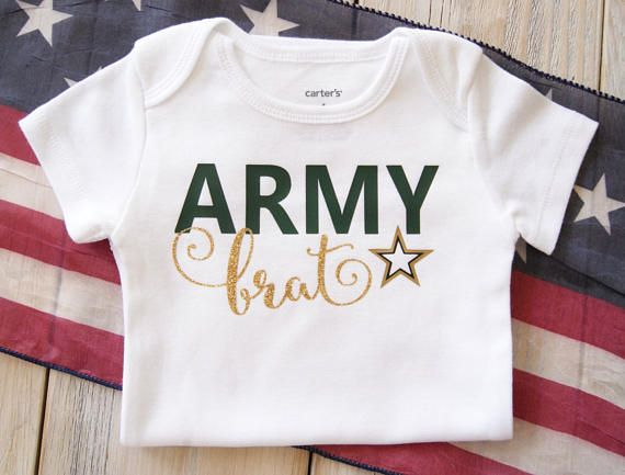 Hey, I found this really awesome Etsy listing at https://www.etsy.com/listing/510915442/army-brat-baby-boy-or-girl-onesie-baby