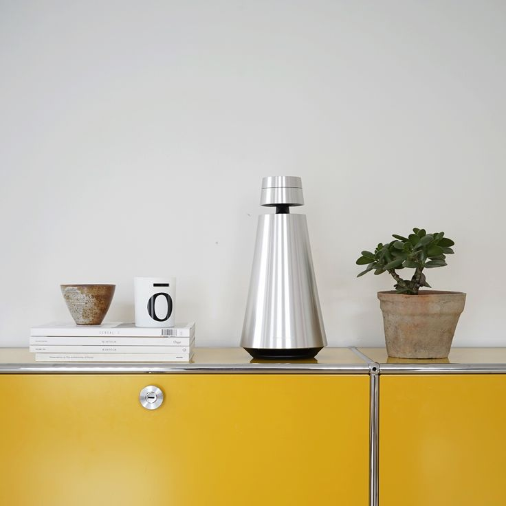 Easy to play around with and you can place it anywhere and still get the Bang & Olufsen signature sound... Say hello to the BeoSound 1!