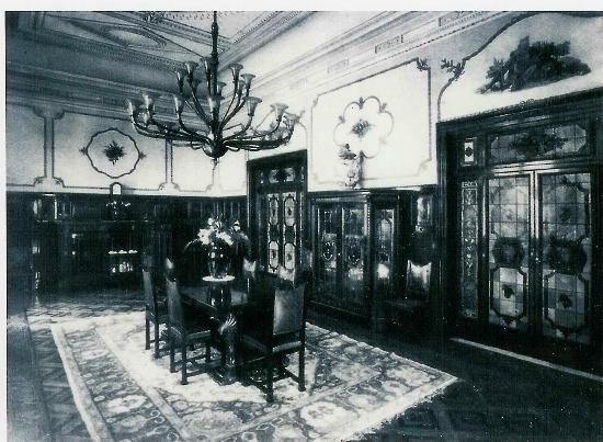 La sala da pranzo 1928