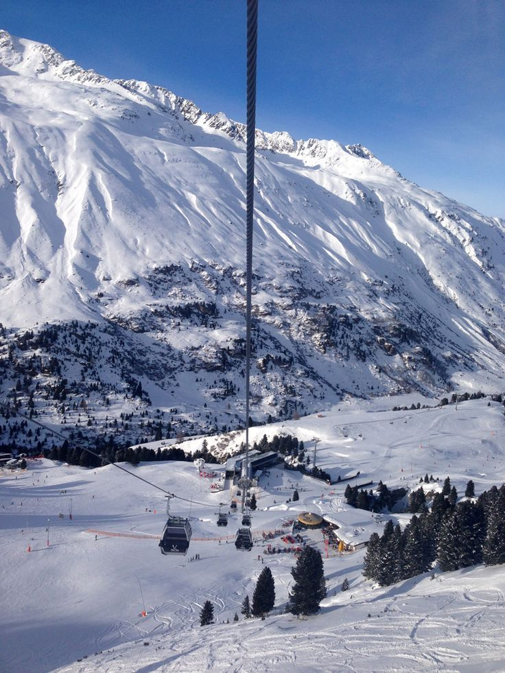 Obergurgl: View from the Hohe Mut Bahn 2/Splodz Blogz