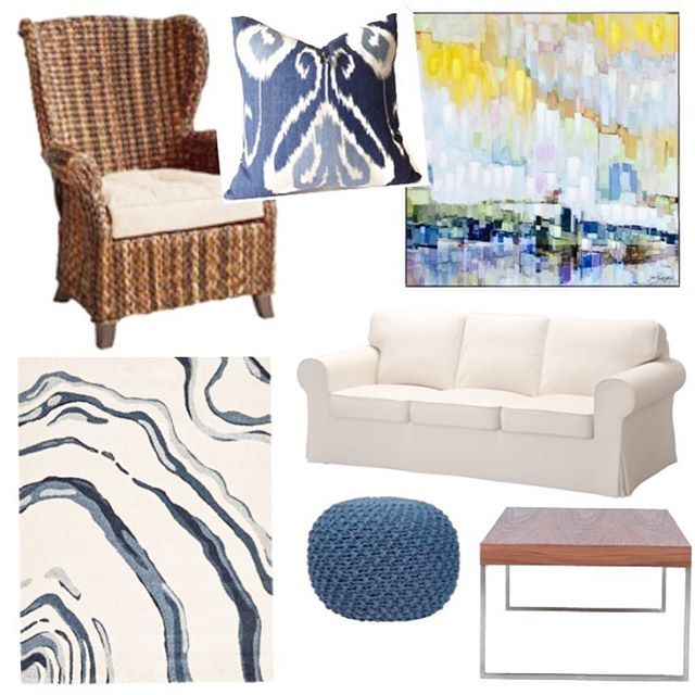 Whoever said you can't have high style on a low budget clearly didn't take a look at this gorgeous room. I call this style Nantucket Casual.  Can you believe this entire room comes in under $2700. Everything is available in 🇨🇦. All in Canadian dollars. Now go shopping....now!! Click the link in my bio for details and pricing.