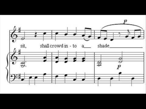 "Handel: Semele, HWV 58 ""Where'er you walk"" Andreas Scholl"