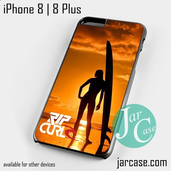 Rip Curl Sunset Surfing Girl Phone case for iPhone 8 | 8 Plus