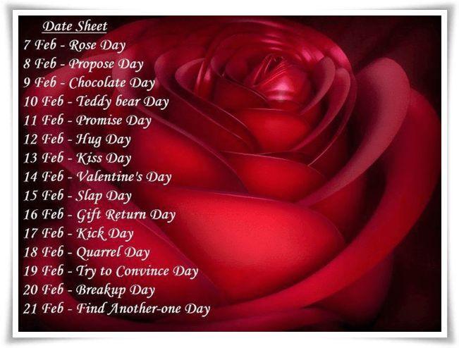 ms de 20 ideas increbles sobre valentine day week list en valentine day date list