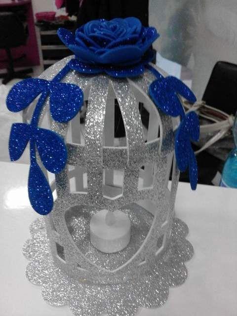 Lanterne feltro handmade