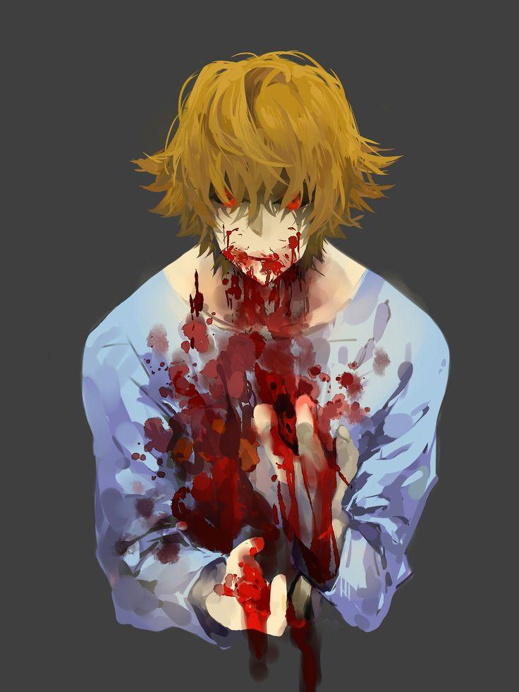 74 best splatter anime amp creepypasta images on pinterest
