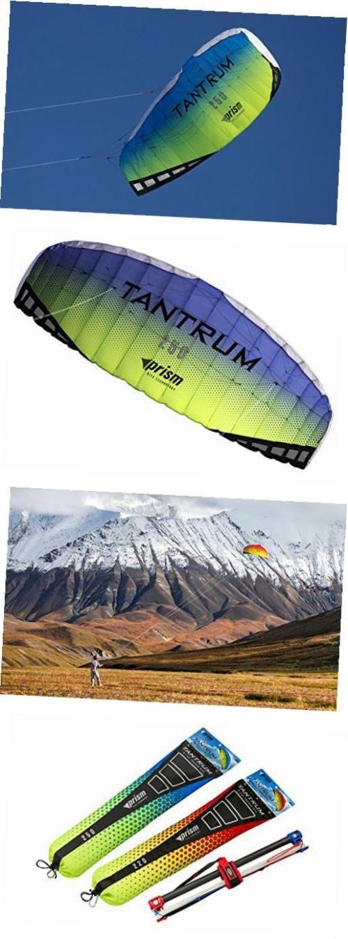Kites 2569: Prism Tantrum 250 Dual-Line Parafoil Kite With Control Bar -> BUY IT NOW ONLY: $175.57 on eBay!