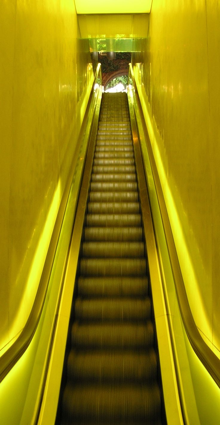 Hudson Hotel Lobby Escalator | New York, New York | Hudson ...