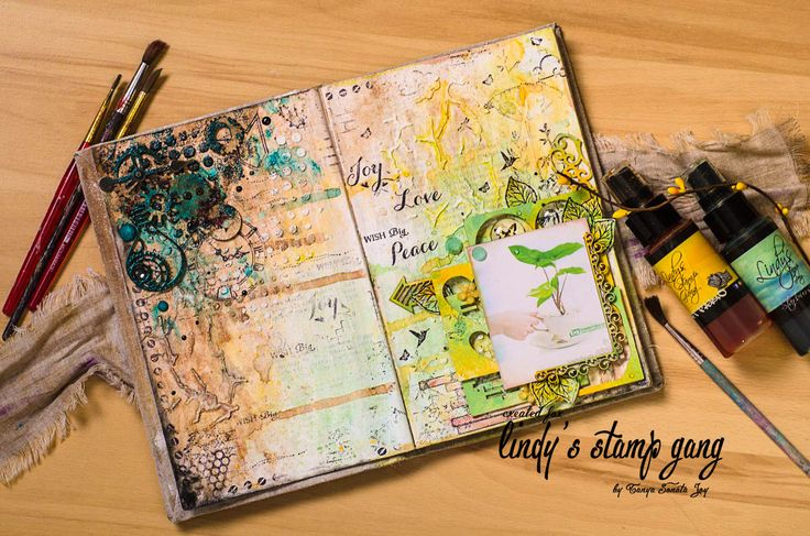 Big wish.  Art Journal