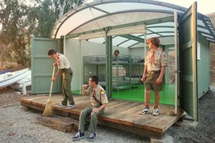 Gensler Designs Shipping Container Cabins for Local Boy Scouts - Curbed LA