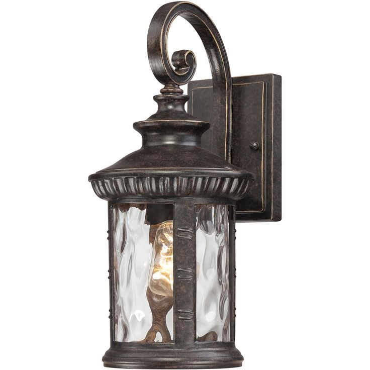 Quoizel lighting chi8407ib chimera imperial bronze outdoor wall sconce