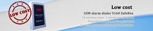 King Pigeon GSM alarm panel S160